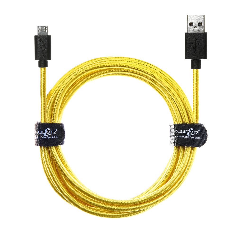 20AWG Pure Copper Low Resistance Fast Charger Data Cable Lead USB 2.0 to Micro USB Cable  For Samsung Galaxy J8 J5 A5 A3 S7 S6